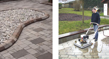 Patio and driveway pressure cleaning London